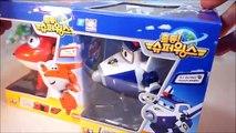 ПОЛИ ПОЛИ Робокар робот Супер большой поезд крылья поезд Крылья Поли Супер Робот