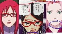 NARUTO 707 Manga Chapter ナルト -- OMFG!!!! OROCHIMARU Created Shin & SARADAs Mother Is KARI