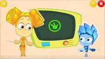ДЛЯ ФУРШЕТА мультфильм и игра про фиксиков детей фиксиклуб фиксики кабельный салат