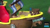 Bucky Barco Pirata Musical y Set de Piratas - Juguetes de Jake y los Piratas - Niños Creat