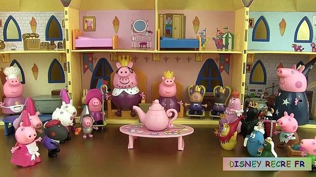 Un et un à un un à fr dans foie une fois porc temps équipe jouets dès peppa il était une jouets français