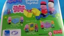 Et aller à vélo porc jouer mouton Ensemble jouets Doh peppa peppa suzy