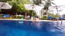 Amusement amusement un hôtel Hôtel Je suis sauts piscine piscine géante pleine de mucus construit chambre dhôtel