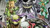 Ordenanza mutante joven Batman Tortugas Ninja Tortugas Ninja trituradora
