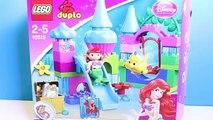 Blocs bâtiment petit sirène Princesse le le le le la jouets lego duplo ariel la petite princesses de sirène di