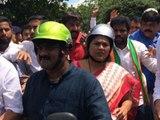 Mangaluru chalo : shobha karandlaje says i get into some injuries while police arrested me