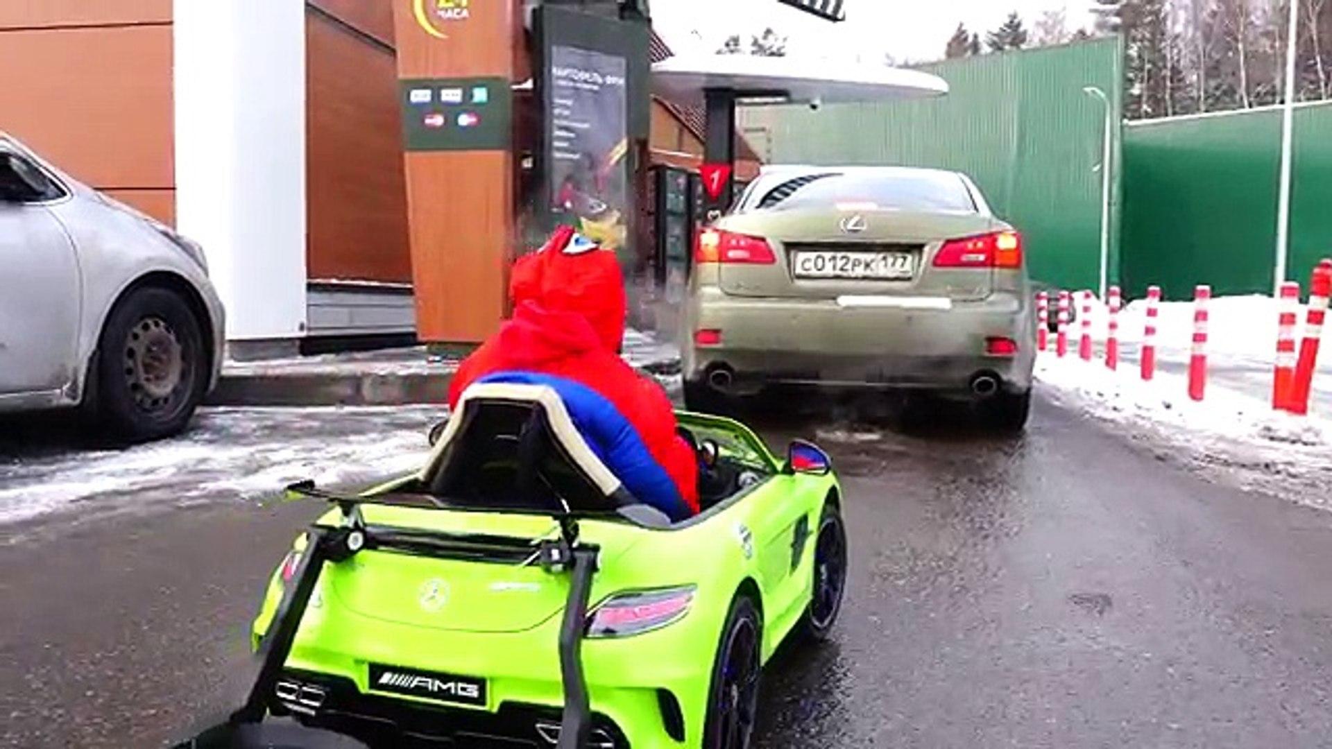 Детка ребенок водить машину Эльза замороженный замороженные в в в в Дети Дети ... кино шалость реаль