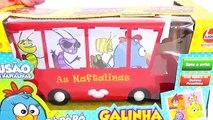 Busão das Naftalinas Galinha Pintadinha Música Meu Lanchinho Pintinho Amarelinho Bonecos B