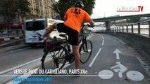 Piste cyclable voie Georges Pompidou : le bonheur pour les uns, l'enfer pour les autres