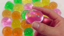 Croissance lumière la magie Magie vers le haut en haut eau orbeez woteobol brillant jouet oeufs de grenouille faire ornements orbeez machine globe ba