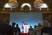 Discours du Président de la République, Emmanuel Macron, aux Préfets le 5 septembre 2017