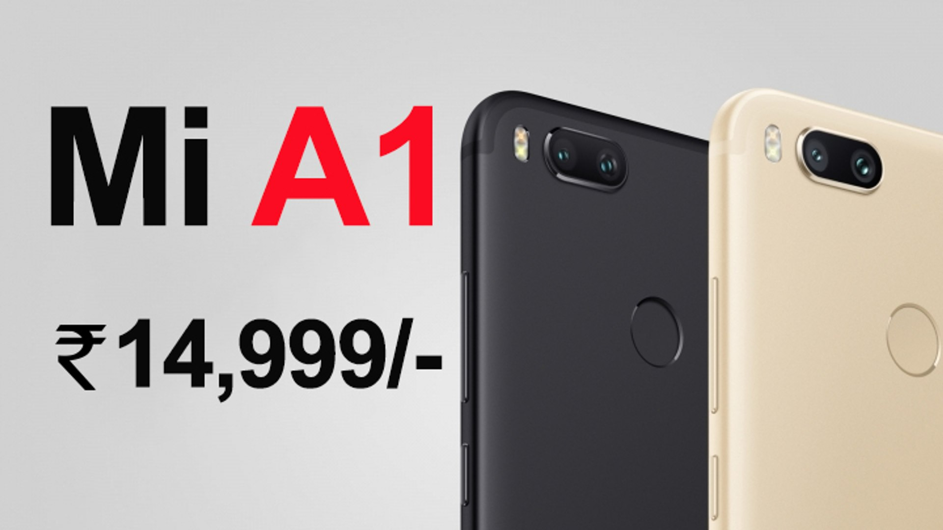 Mi A1 Mobile - Look, Redmi Next Sale on Flipkart/Amazon/Snapdeal