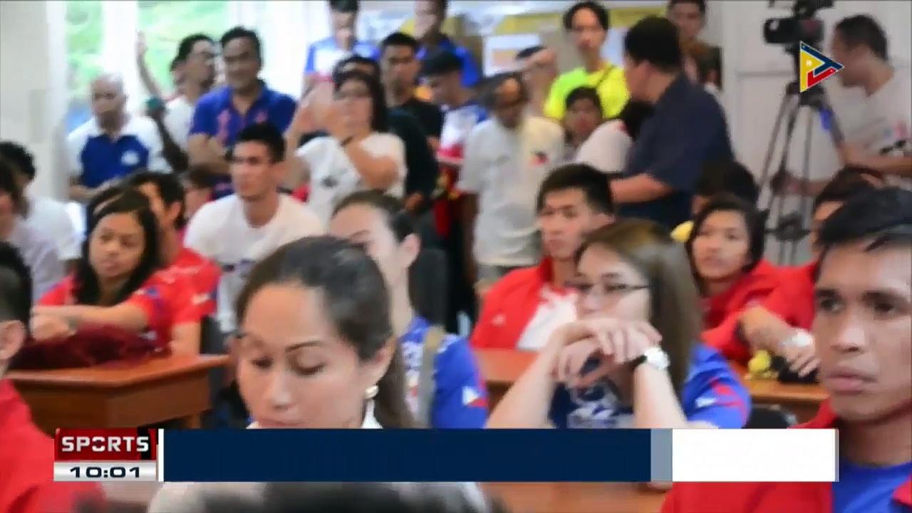 SPORTS NEWS: Ramirez receives SEAGames medallists