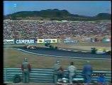 Gran Premio d'Ungheria 1990: Sorpasso di Berger a Mansell, incidente di A. Senna con Nannini e ritiro di Nannini