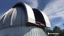 Reed Timmer visits Roper Mountain Science Center's Charles E. Daniel Observatory