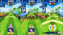 Sonic Dash Shadow VS Sonic Charer Gameplay iPhone iPad Android