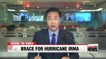 Category 5 Hurricane Irma barrels toward Caribbean and southern U.S.