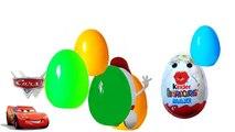 Animación coches huevos huevos huevos sorpresa 20 Disney Pixar 2 huevos con sorpresa Kinder Sorpresa carretilla 2