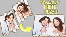 #Popsicle Stick Photo Puzzle | How to make Photo Frame DIY Art Craft | Ice Cream Sticks Craft