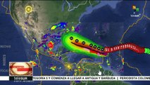 Huracán Irma llega a Antigua y Barbuda con categoría 5