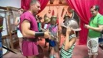 Sans frontières - Rome: une école de gladiateurs