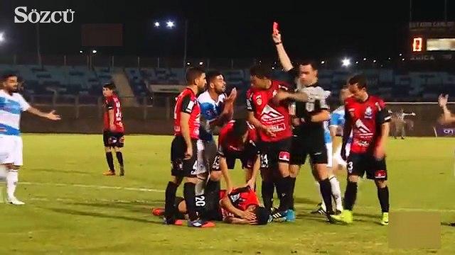 Golü engellemek için canından oluyordu!