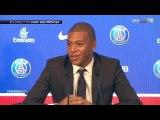 Kylian Mbappé donne une réponse sur sa position en attaque