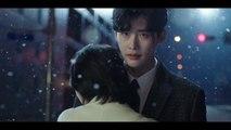 """Lee Jong Suk - Suzy nhìn nhau bi thương, hôn giữa trời tuyết trong teaser """"While You Were Sleeping"""""""