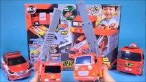 Fire station cars & Robocar Poli Tayo car key toys + more - ToyPudding 월드카 파워키
