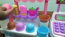 Magasin de jouets supermarché princesse poupée distributeur de crème glacée Anna et Kristoff datant de la crème glacée