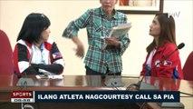SPORTS BALITA: Ilang atleta, nag-courtesy call sa PIA