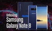 Galaxy Note 8: Unboxing en vídeo con extras curiosos y S8+ en mano