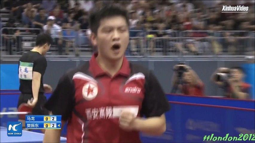 Ma Long vs Fan Zhendong Highlights HD Chinese National Games 2017 Final | Godialy.com