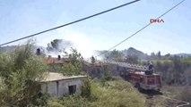 Muğla Atıl Okul Binasında Yangın