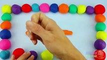 Et enfants pour enfants Apprendre jouer pâte à modeler avec Alphabets doh |