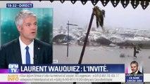 """Irma: la région Auvergne-Rhône-Alpes """"va adopter un dispositif de solidarité"""", annonce Wauquiez"""