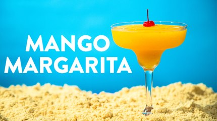 Mango Margarita Frozen Drink Recipe