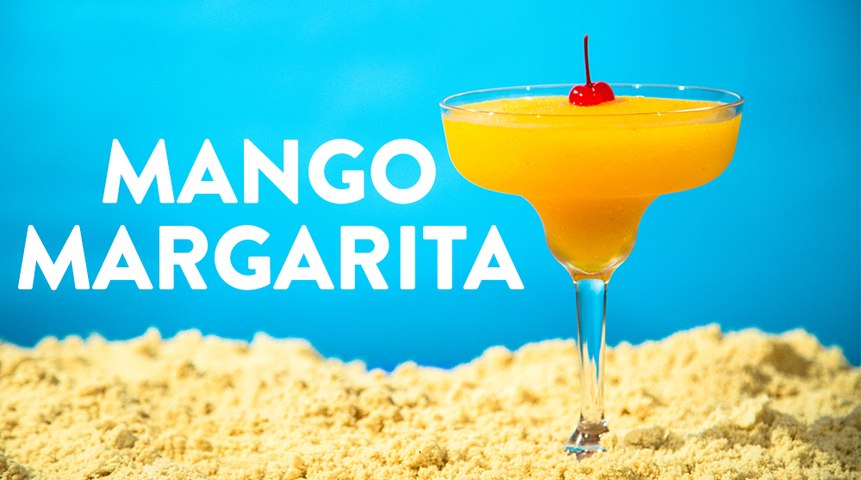Mango Margarita Frozen Drink Recipe
