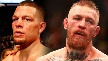 """Nate Diaz Tells Conor McGregor to """"Get Off the Nuts"""""""