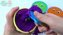 Cups Kinetic Sand Smiley Face Ice Cream Surprise Toys Peppa Pig Masha Paw Patrol Talking T