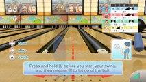 Bolos jugabilidad en línea alfiler pino Deportes Wii club 100 3 jugadores hd