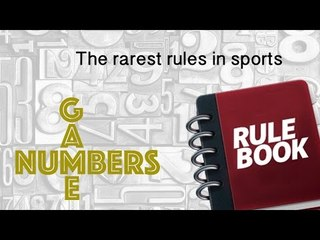 THE RAREST RULES IN SPORTS - NUMBERS GAME