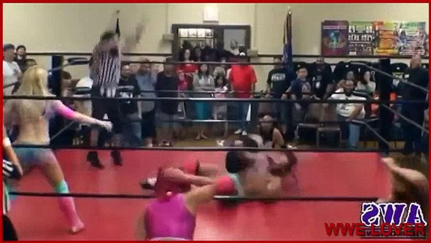 WWE boob's fight match