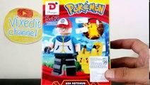 Construir clips de Niños juguetes 01 qixels 3d pokemon pikachu squirtle encanto