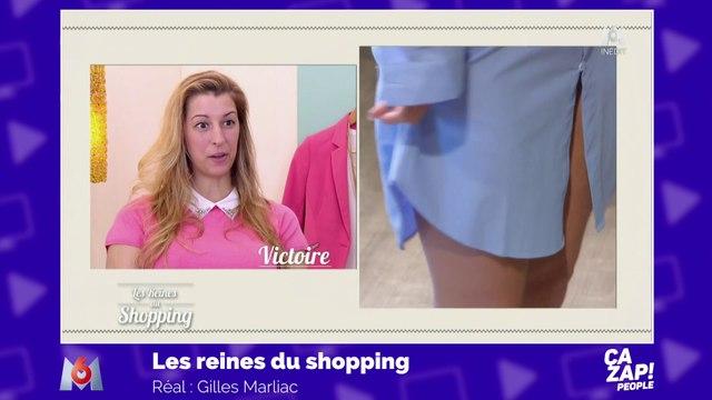 La tenue très osée d'une candidate des Reines du shopping