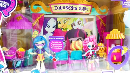 My Little Pony Equestria Girls Movie Magic Theater Playset with Juniper Montage