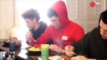 Lamelo Ball wildin' out (Lavar Ball tries to stop him)