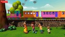 Vache Vache Railu Bandi | Telugu Rhymes for Children | Infobells