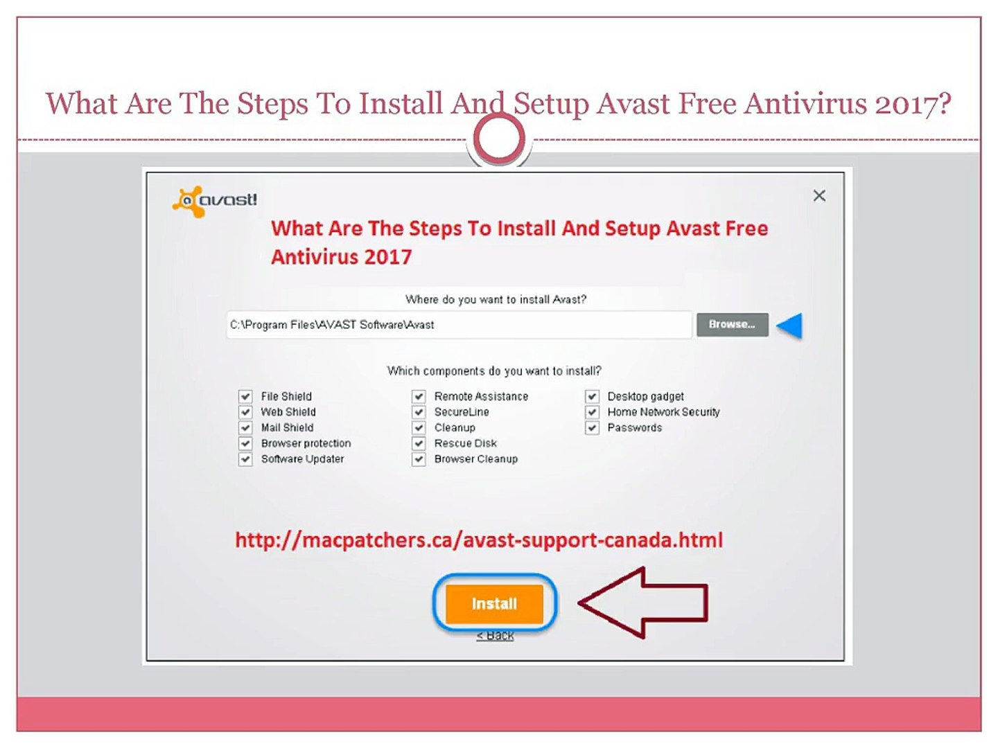 What Are The Steps To Install And Setup Avast Free Antivirus 2017