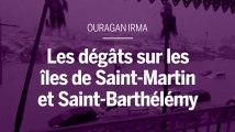 L'ouragan Irma balaie les îles de Saint-Martin et de Saint-Barthélemy